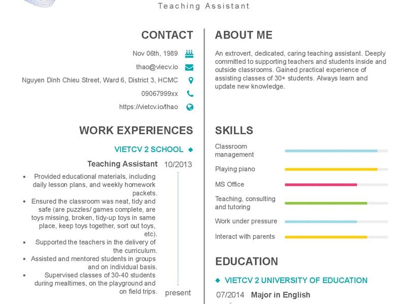 CV xin việc giáo viên mầm non: 7 bước để lọt mắt xanh nhà tuyển dụng - Ảnh 4
