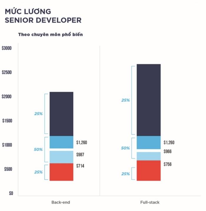 Mức lương khủng của lập trình viên: Tổng hợp chi tiết các vị trí năm 2020 - Ảnh 3